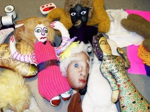 PUPPETS AND SOFT SCULPTURE