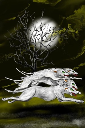 Geisterkessel dogs