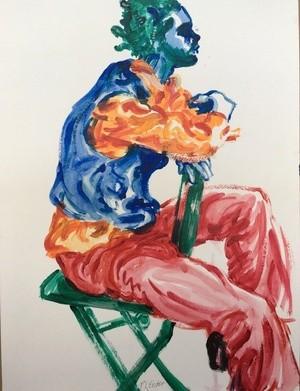 Colorful Man