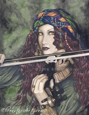 Enchanted Melodies: Violin