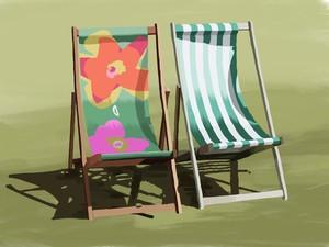 Hyde Park deckchairs