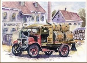 Beer wagon Morris (1925)
