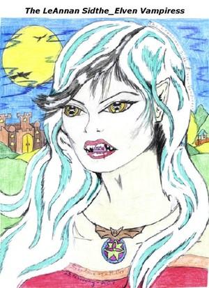 Leanan Sidhe Elven Vampiress