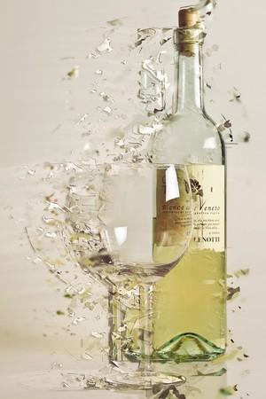 Wine and glass, Wijn en glas