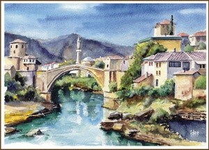 The city of Mostar