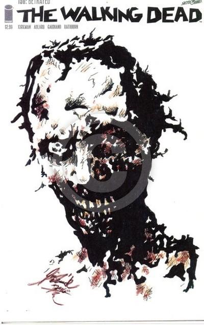 walking dead zombie cover