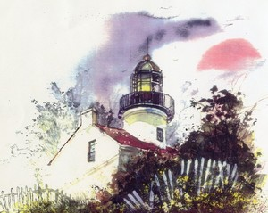 Pt. Loma Lighthouse, San Diego, CA.