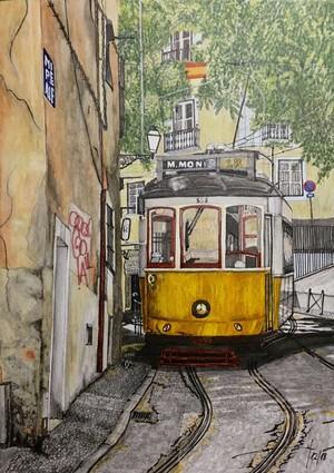 Tranvía Alfama