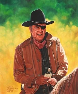 John Wayne  as Rooster Cogburn