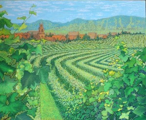 Vineyards of Alsace, France