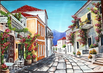 STREET IN GREECE