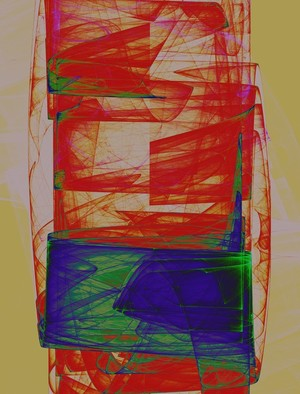 Abstract Composition 286