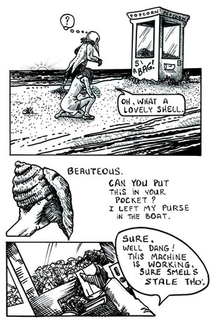 Deflicted Comix #5, BoatRide, Page #10