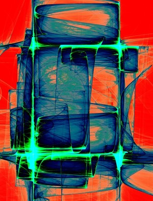 Abstract Composition 402