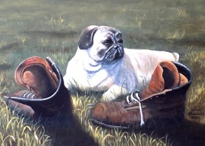 Pug and Boots