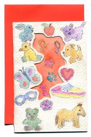 Juvenile Diecut Card
