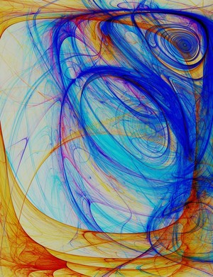 Abstract Composition 396