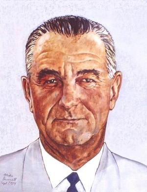 Lyndon Johnson  - 1974