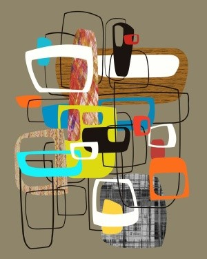 Abstract Composition 853