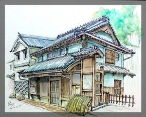 90 min. Quick Sketch Hiroshima (no title)