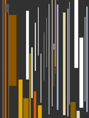 Abstract Composition 698