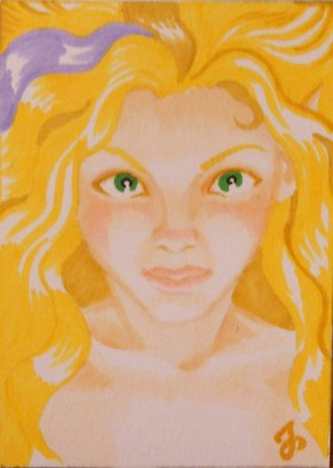 Sunshine Fairy original ACEO