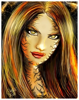 witchblade face