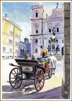 A romantic ride in Salzburg