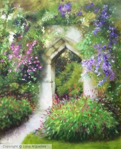 """The Garden at Suderley Castle"""