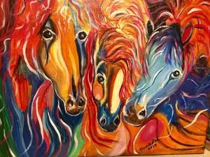 Three Horses Unite
