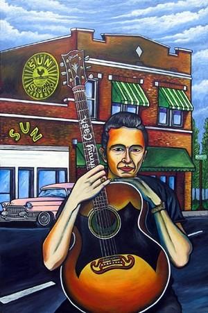 Johnny Cash: Get Rhythm (SOLD)