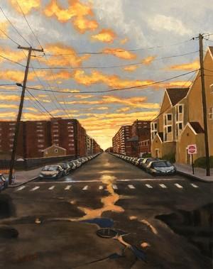 Shore Road Sunset