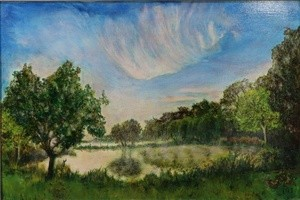 Misty Morning – Upper Clatford