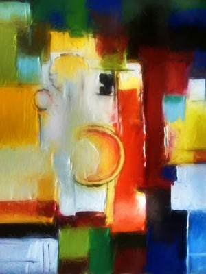 Abstract composition 83