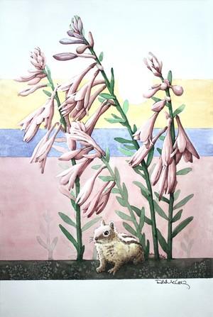 Under the Coleus Blooms