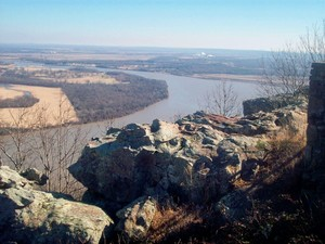Atop Petit Jean Mountain