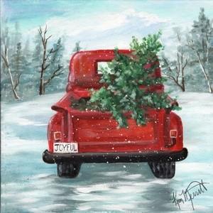Red Truck Winter