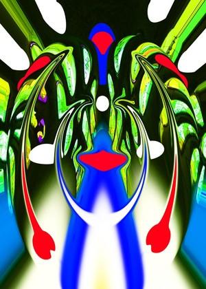 Alien plant lifeform