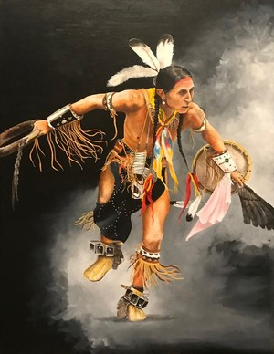 Lakota Black Hills Dancer