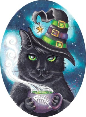 Georgette, The Witch Cat