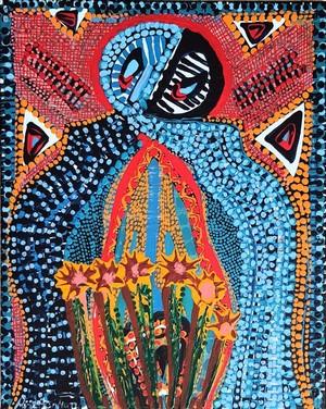Artista israelita cuadros acrilico en canvas