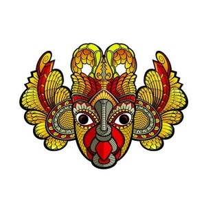 devil mask-eagle