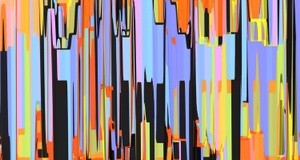 Abstract Composition 707