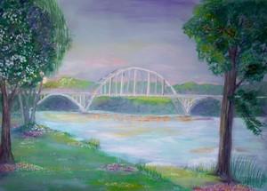 Ozark Bridge on the Arkansas River