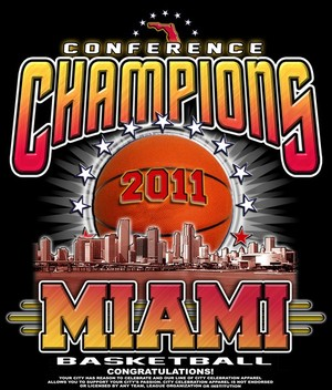 MIAMI BASKETBALL-conference champs