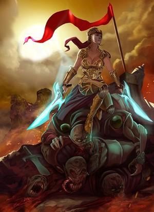 amazonian warrior