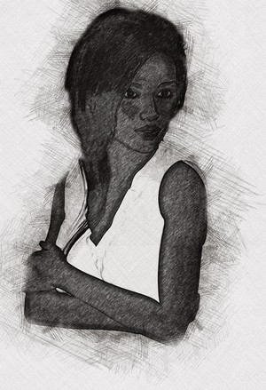 Sketch Art Portrait