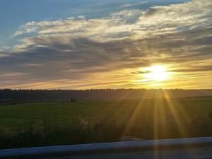 Starburst Sunset