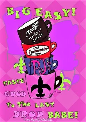 Louisiana Coffee Cup