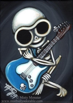 Guitar Skelly